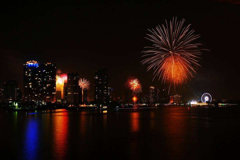 Nouvel an en Thailande